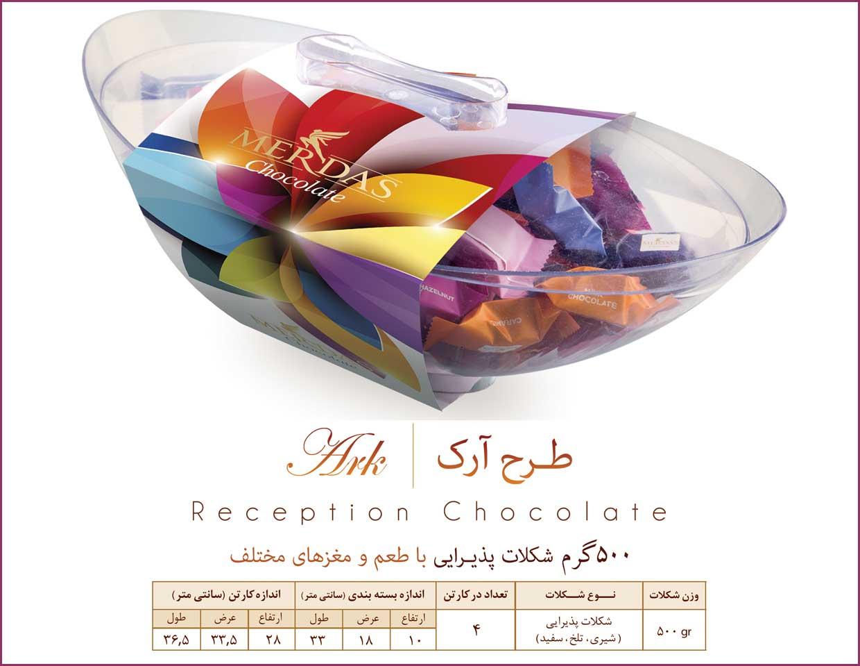 شکلات مرداس کادویی