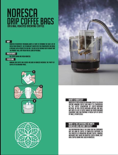 قهوه کیسه ای نورسکا