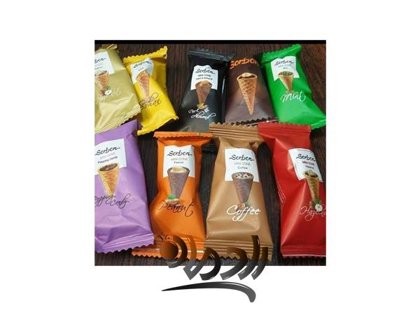 صادرات انواع شکلات