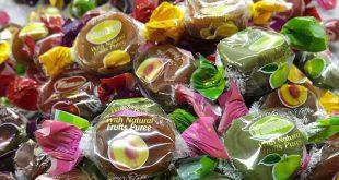 صادرات شکلات تافی ترش یامان